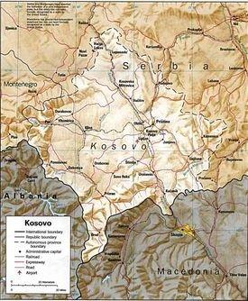 Kosova - Albanian Territories- Troje shqiptare