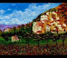 Tuscany Hilltown