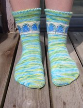 Bluebell Lace Socks