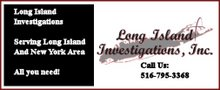 Long Island Private Investigator 516-795-3368
