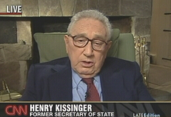Dr. Henry Kissinger, ehemaliger US-Außenminister