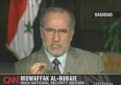 Dr. Mowaffak al-Rubaie, Sicherheitsexperte der irakischen Regierung