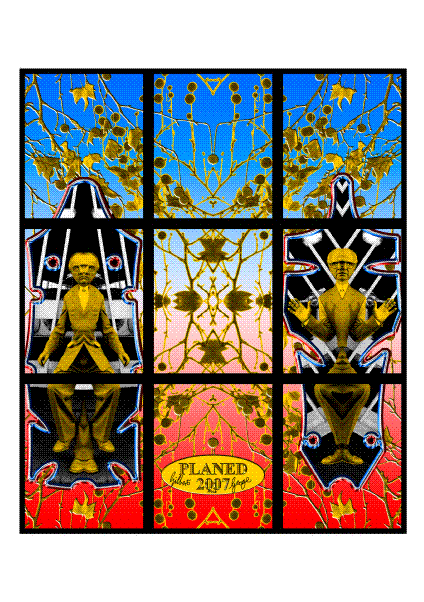 Gilbert & George Planed