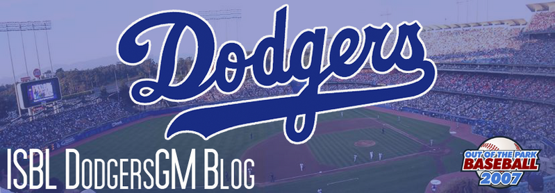 ISBL Dodgers GM Blog