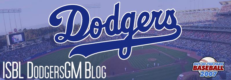 ISBL Dodgers GM Blog