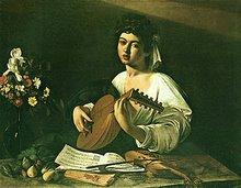il suonatore di liuto-Caravaggio