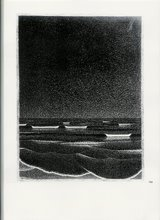 Phosphorescent Sea of M.C.Escher 1933