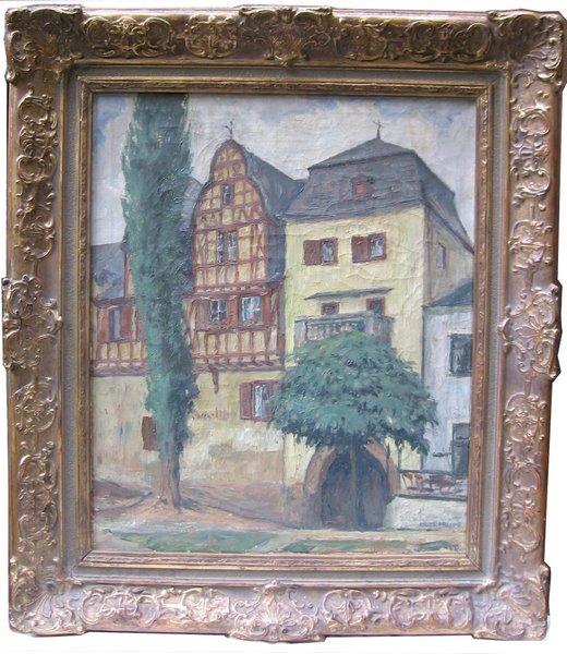 Häuser in Rhens/Reinland