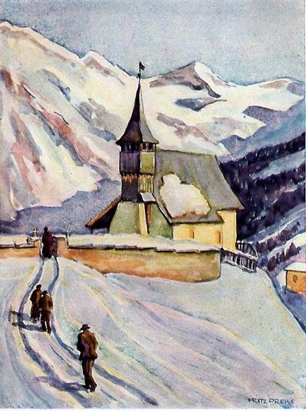 Bergkirchlein in Graubünden