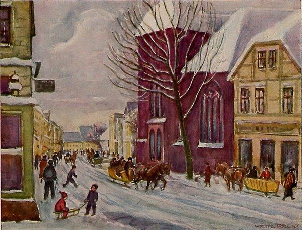 Pommersche Kleinstadt
