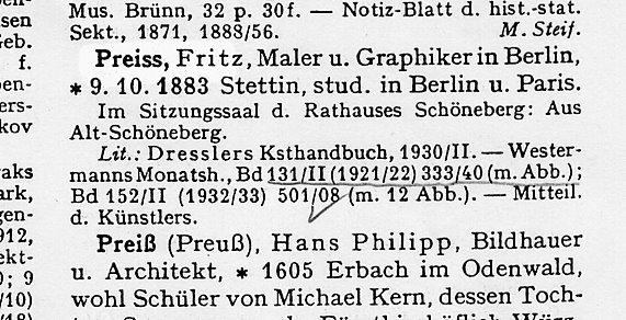 Künstlerverzeichnis Thieme-Becker