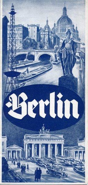Berlin Faltblatt 1934
