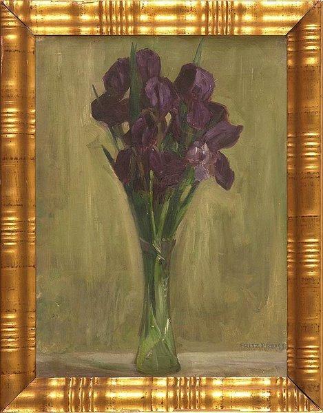 Iris in Glasvase