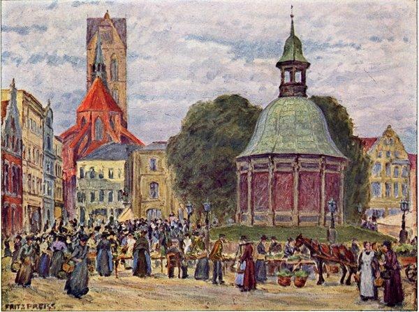 Markt in Wismar