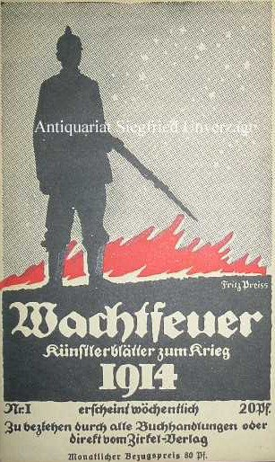 Wachtfeuer 1914
