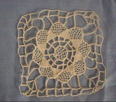 Hand crocheted lace by Grandma Agnes
