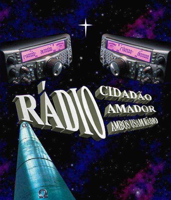 Rádio: Cidadão e Amador, ambos usam Rádio . . .