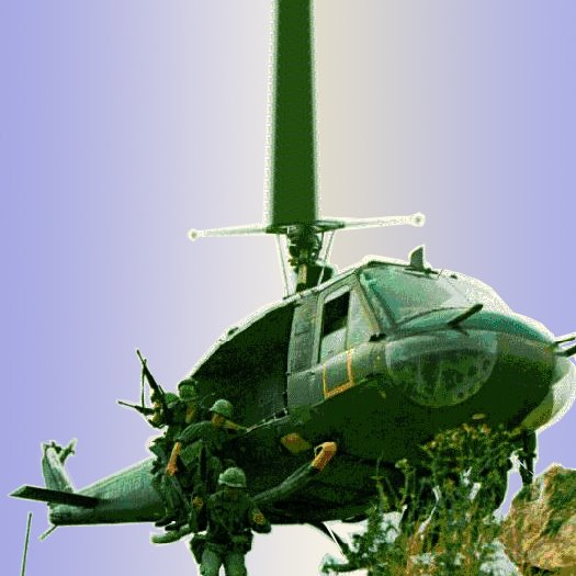 Helicoptero of Vietnam War
