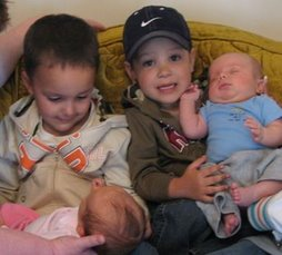 The Great Grandkids together