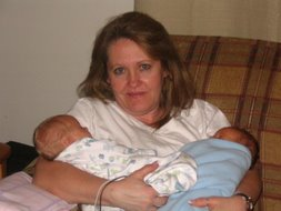 Terri and the babies
