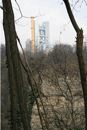 La Torre di Calusco  dal Naviglio di Paderno