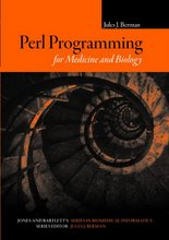 "<a href=""http://www.jbpub.com/catalog/9780763743338/"">Perl Programming for Medicine and Biology</a>"