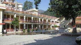 Sacha Dham ashram - general view