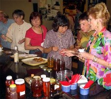 Honey Tasting Sept., 04