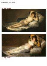 Goya: desnuda - vestida