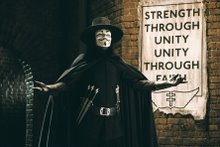 """V"" IS for Vendetta"