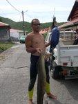 La pêche du jour!