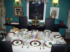 La mesa de El Dedal