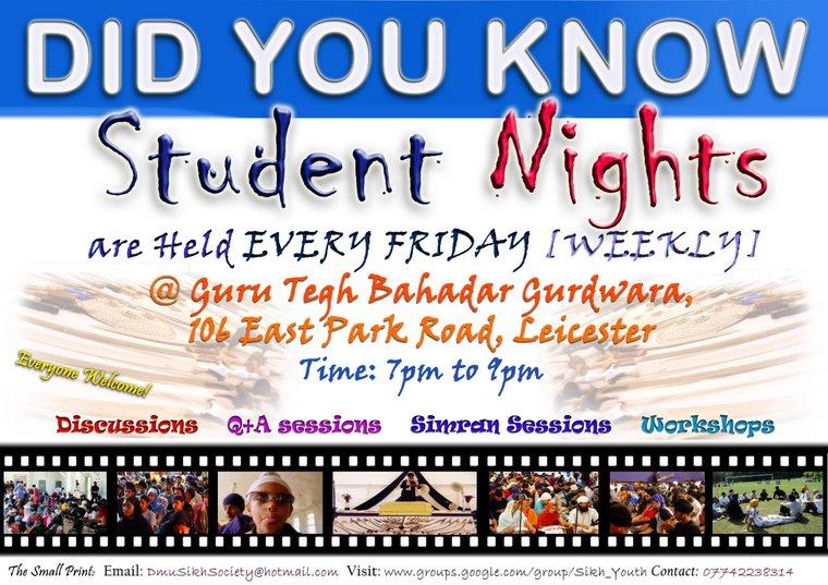 Student Nights