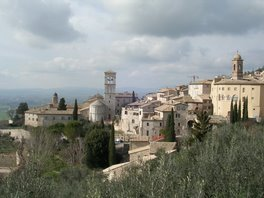 A view from the top of Assisi