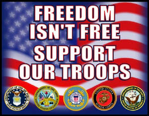 "<a href=""http://www.americasupportsyou.mil/americasupportsyou/index.aspx"">Support our Troops!</a>"