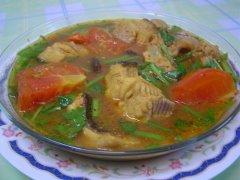 Asam Pedas Ikan Pari (lada hitam)