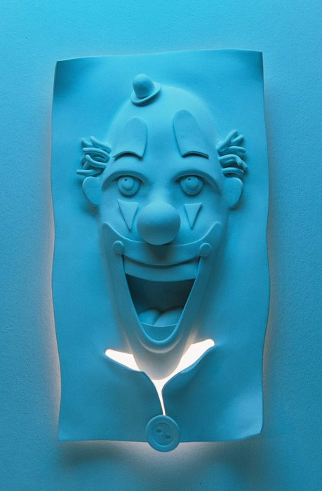 Sorriso azul