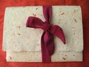 Saffron Paper & envelope Gift Set PINK $6.80