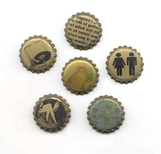 Penny Candy Bottle caps image transfers from Sherri Haab :  printed crafts crafting sherrihaab