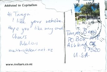 Meliors, New Zealand, Posted 07/07