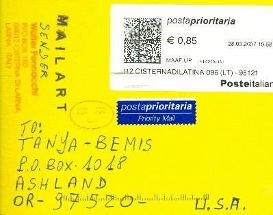Walter Pennacchi--Latina, Italy--Rcvd 04/07