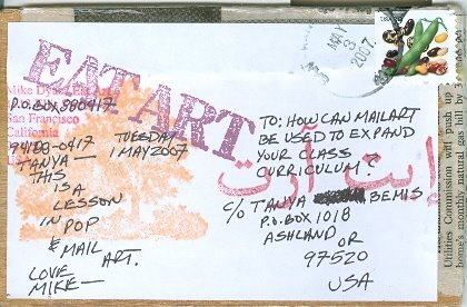 Mike Dyar, Eat Art, USA  Posted 05/07