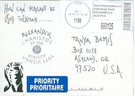 Alexander Charistos, Austria, Posted 07/07