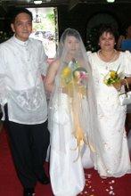 MANONG EDSEL AT HIS DAUGHTER'S WEDDING