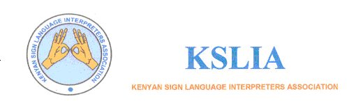 Kenya Sign Language Interpreters Association - (KSLIA)
