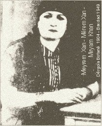 MIRYAM KHAN - MEYREM XAN