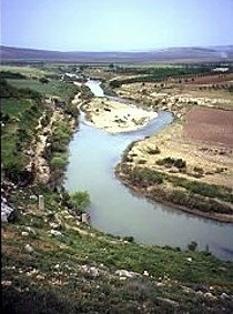 AFRIN RIVER  in Kurd-Dagh