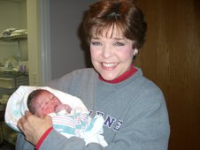 My first grandbaby! Miss Shelby Grace...