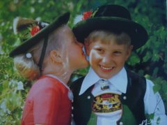 Typical Bavarian Costume