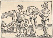 Os monstrinhos (séc. XVI)
